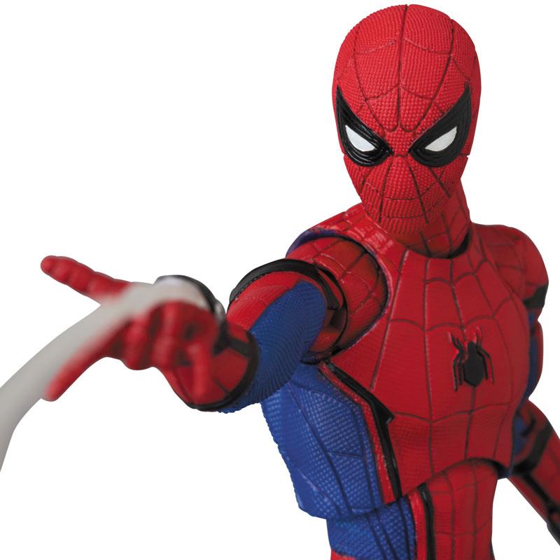 マフェックス No.103 MAFEX『SPIDER-MAN(HOMECOMMING Ver.1.5)』スパイダーマン アクションフィギュア-011