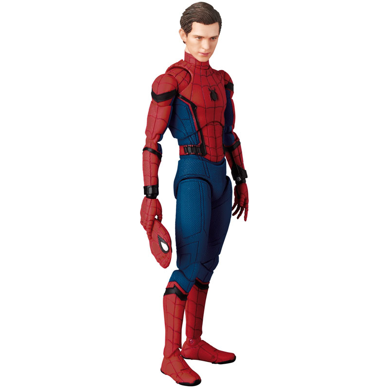 マフェックス No.103 MAFEX『SPIDER-MAN(HOMECOMMING Ver.1.5)』スパイダーマン アクションフィギュア-012
