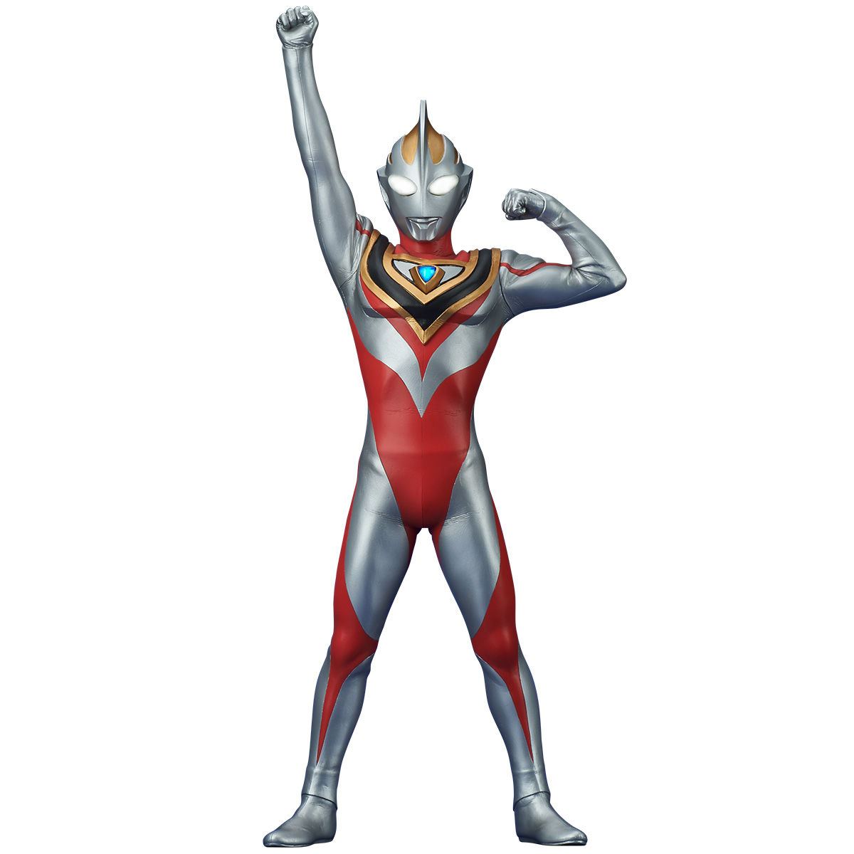 大怪獣シリーズ ULTRA NEW GENERATION『ウルトラマンガイア(V2)登場ポーズ』完成品フィギュア-001