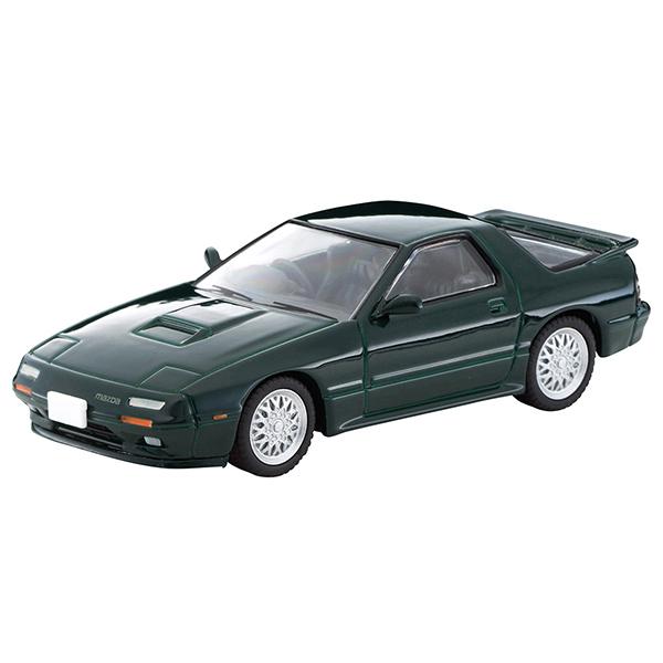 トミカリミテッドヴィンテージ ネオ LV-N 日本車の時代 14『マツダ サバンナ RX-7 アンフィニ(緑)』ミニカー