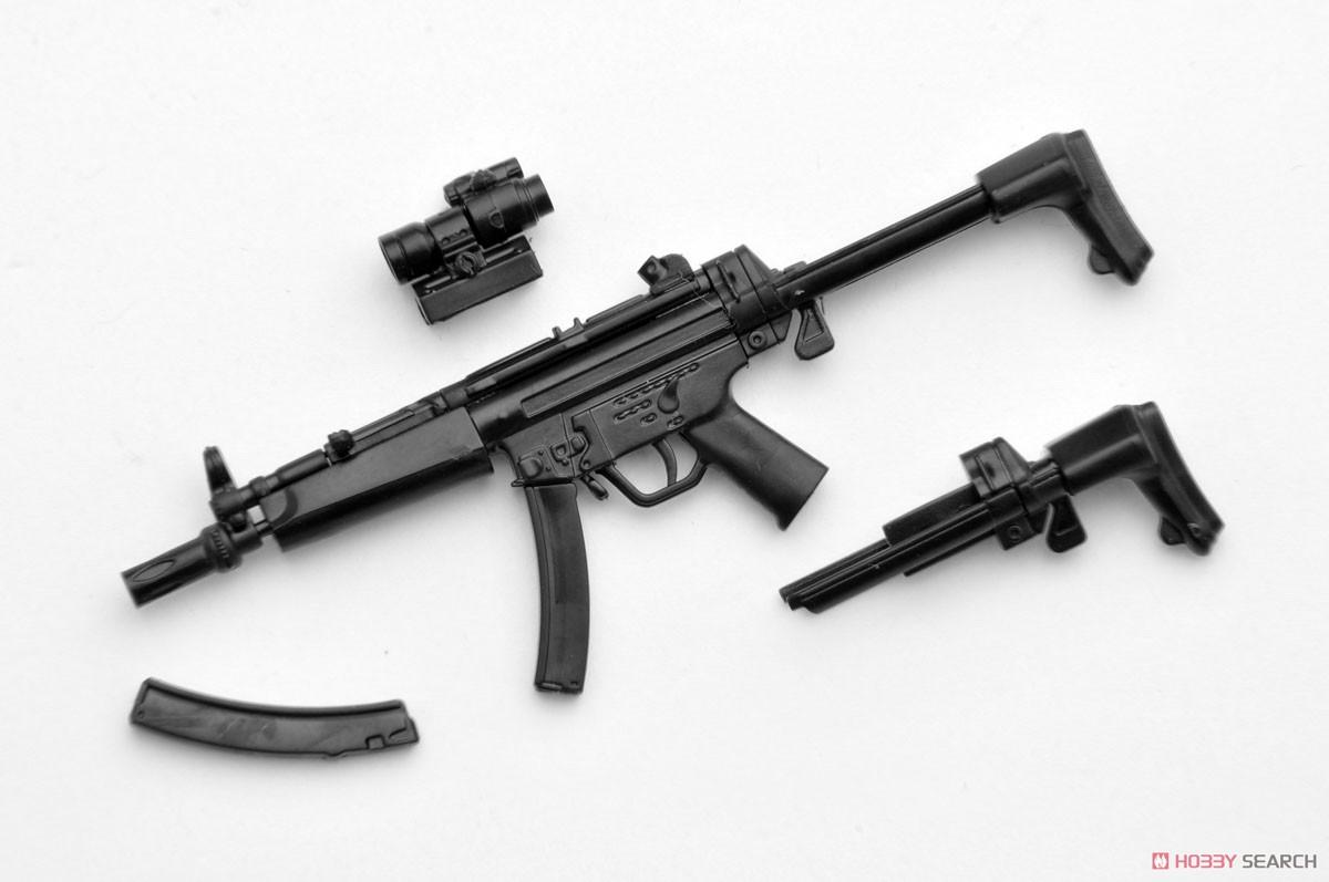 リトルアーモリー LADF02『MP5(F仕様)白根凛ミッションパック』1/12 プラモデル-002