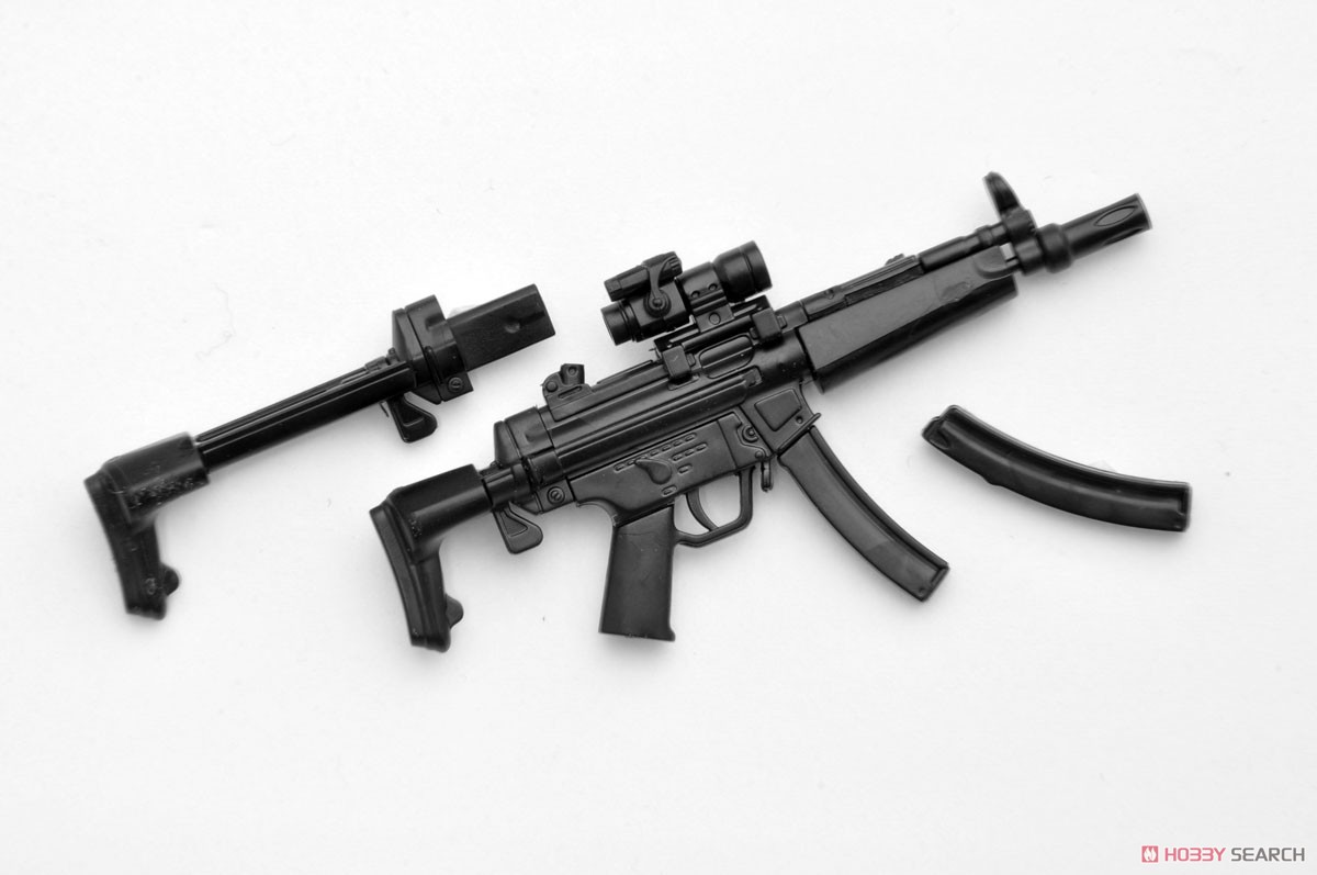 リトルアーモリー LADF02『MP5(F仕様)白根凛ミッションパック』1/12 プラモデル-003