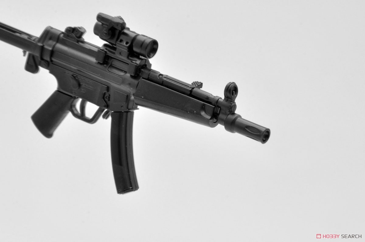 リトルアーモリー LADF02『MP5(F仕様)白根凛ミッションパック』1/12 プラモデル-007