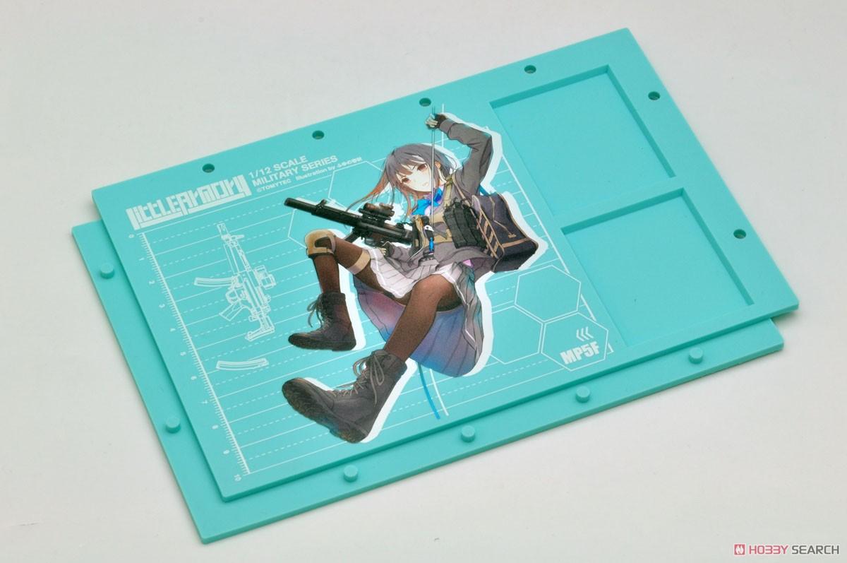リトルアーモリー LADF02『MP5(F仕様)白根凛ミッションパック』1/12 プラモデル-008