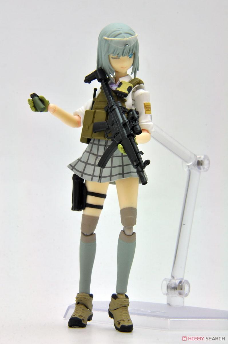 リトルアーモリー LADF02『MP5(F仕様)白根凛ミッションパック』1/12 プラモデル-012