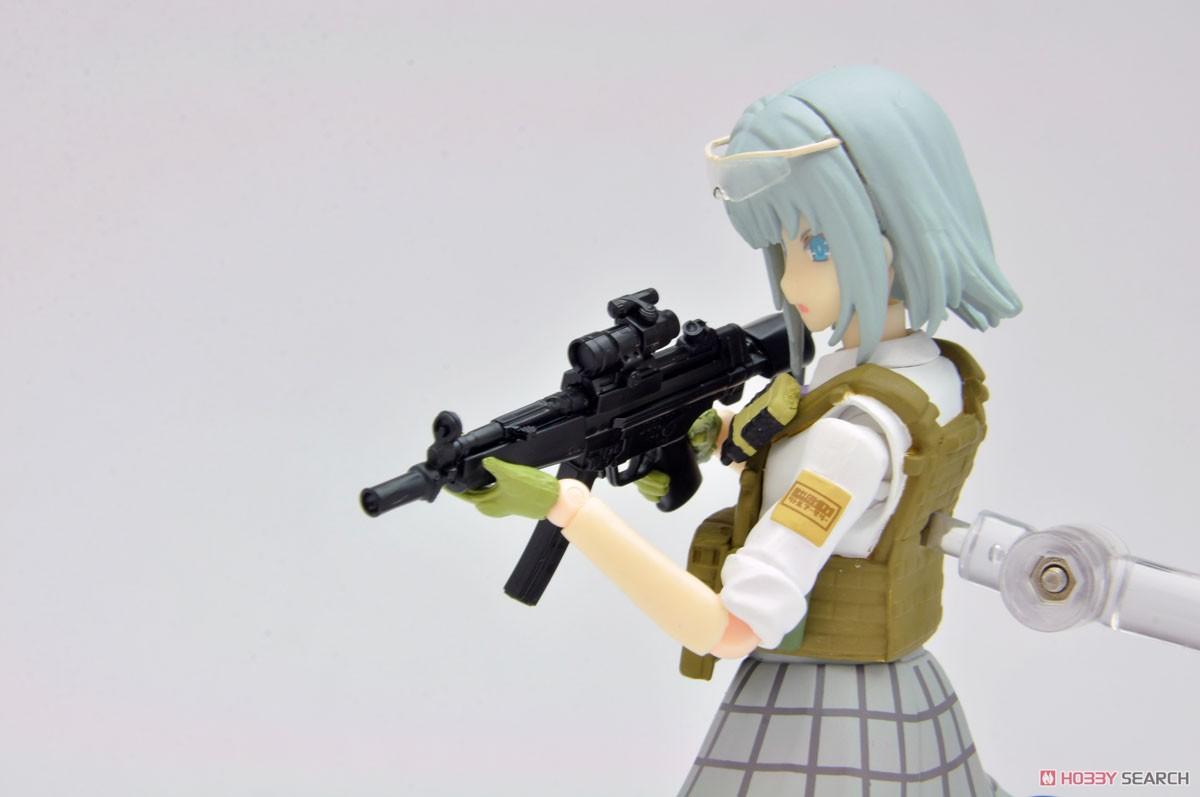 リトルアーモリー LADF02『MP5(F仕様)白根凛ミッションパック』1/12 プラモデル-013