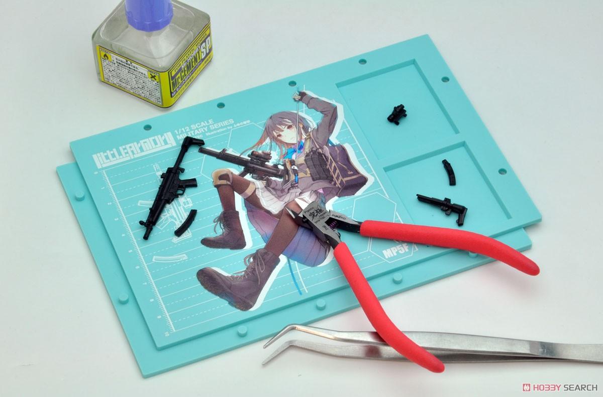 リトルアーモリー LADF02『MP5(F仕様)白根凛ミッションパック』1/12 プラモデル-014