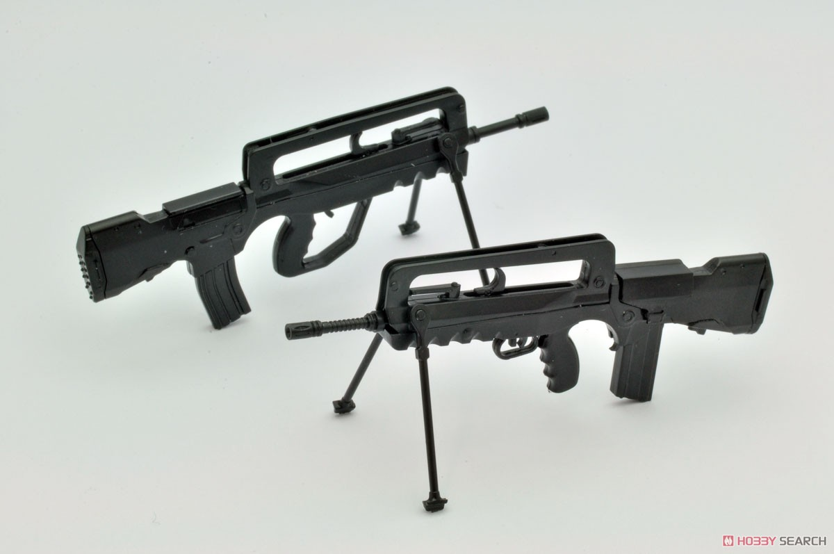 リトルアーモリー LA057『FA-MAS F1タイプ』1/12 プラモデル-010