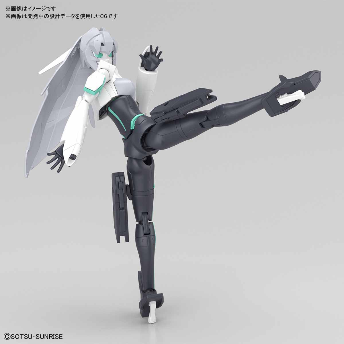 HGBD:R『モビルドールメイ』ガンダムビルドダイバーズRe:RISE プラモデル-006