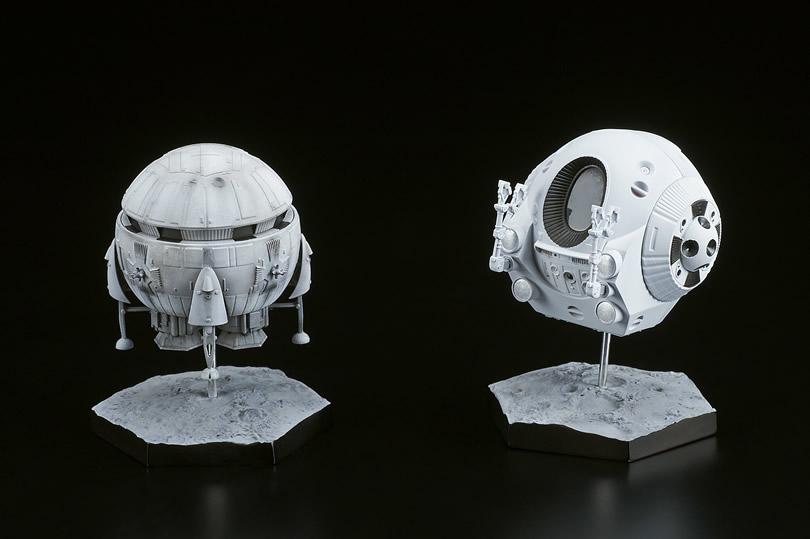 2001年宇宙の旅『アリエス号&スペースポッド』完成品フィギュア-001