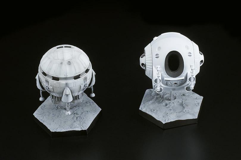2001年宇宙の旅『アリエス号&スペースポッド』完成品フィギュア-002