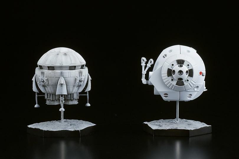 2001年宇宙の旅『アリエス号&スペースポッド』完成品フィギュア-003
