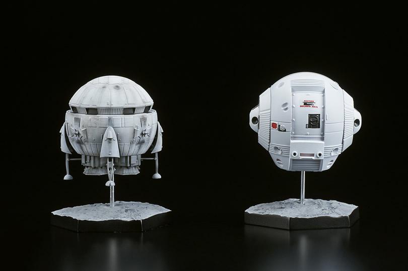 2001年宇宙の旅『アリエス号&スペースポッド』完成品フィギュア-004