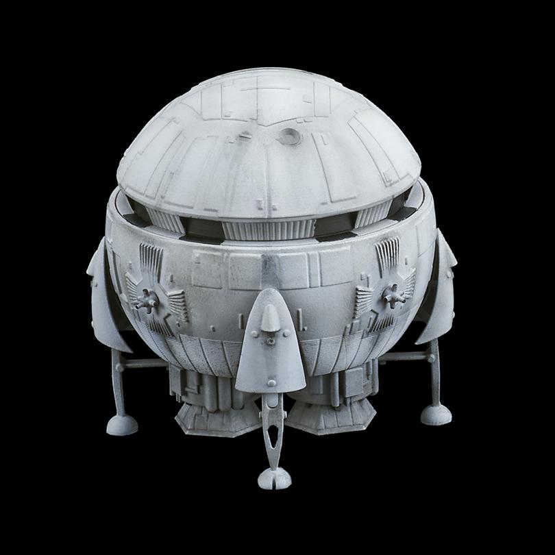 2001年宇宙の旅『アリエス号&スペースポッド』完成品フィギュア-005