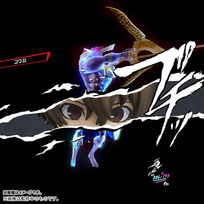 ねんどろいど『明智吾郎 怪盗服Ver.』ペルソナ5 可動フィギュア-007
