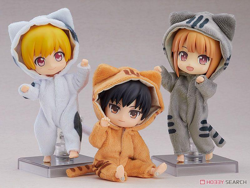 ねんどろいどどーる『きぐるみパジャマ(トラねこ)』ドール服-004