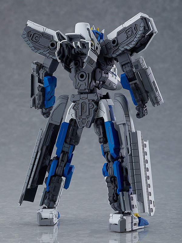 MODEROID『N700Aのぞみ』新幹線変形ロボ シンカリオン プラモデル-006