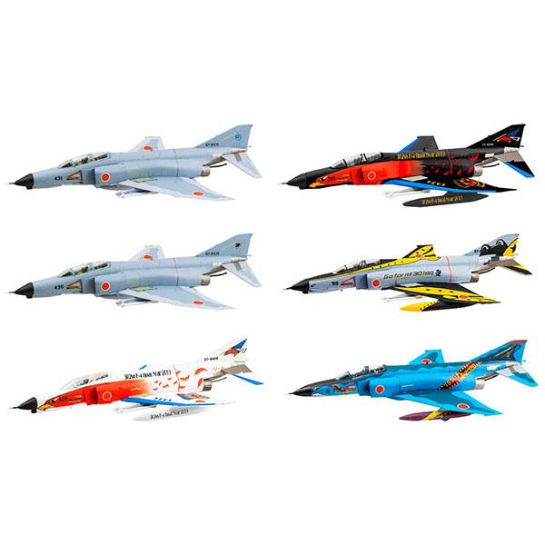【食玩】1/144 ワークショップ Vol.37『F-4ファントムII ファイナルスペシャル』プラモデル 10個入りBOX
