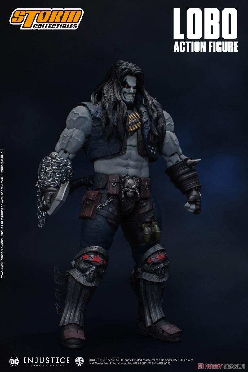 インジャスティス:神々の激突『ロボ』 アクションフィギュア-002