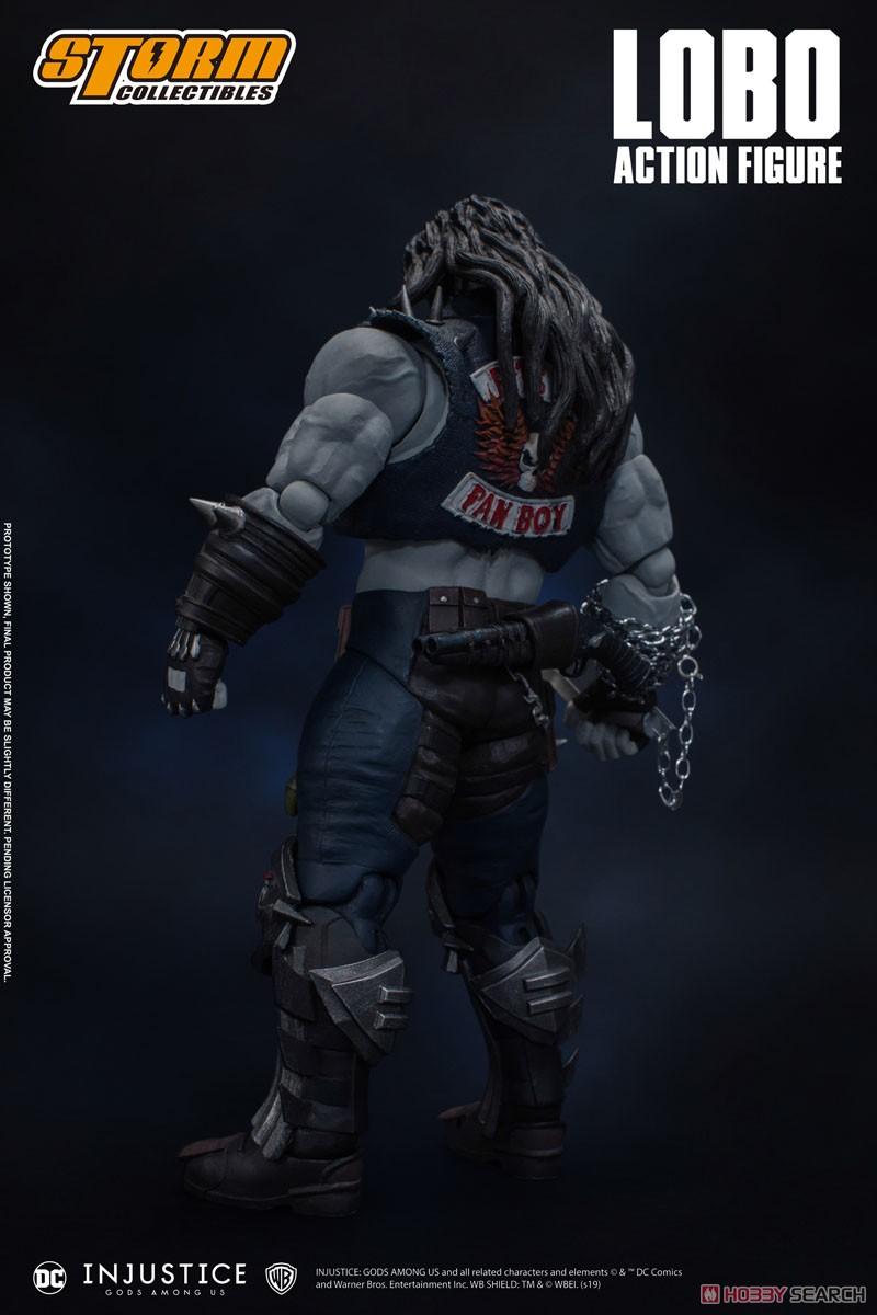 インジャスティス:神々の激突『ロボ』 アクションフィギュア-003