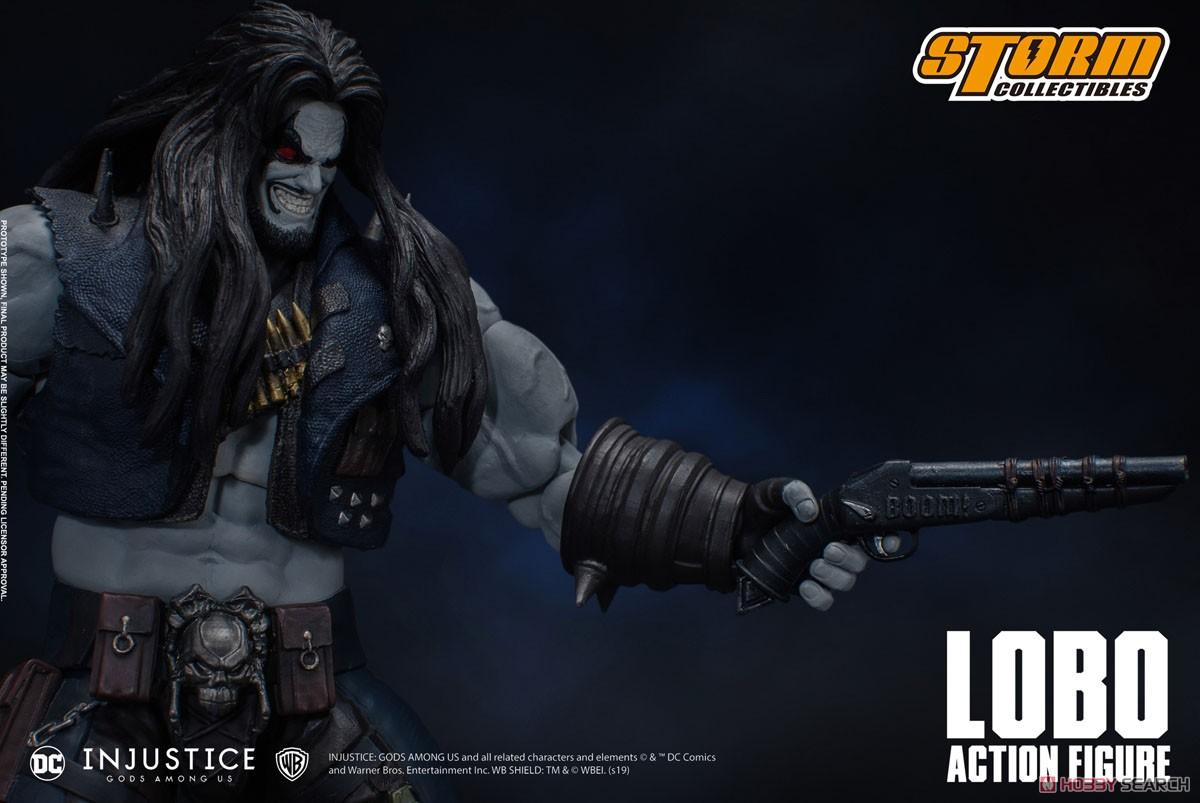 インジャスティス:神々の激突『ロボ』 アクションフィギュア-005