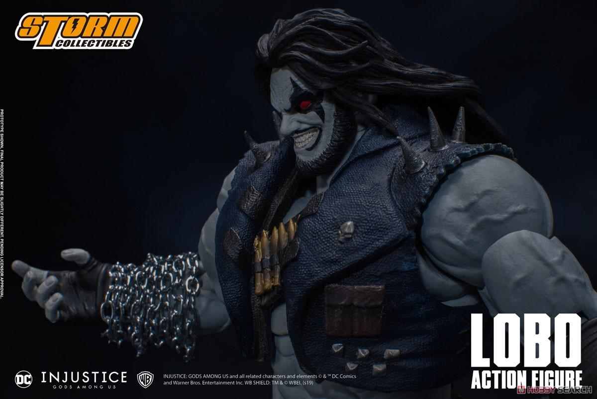 インジャスティス:神々の激突『ロボ』 アクションフィギュア-011