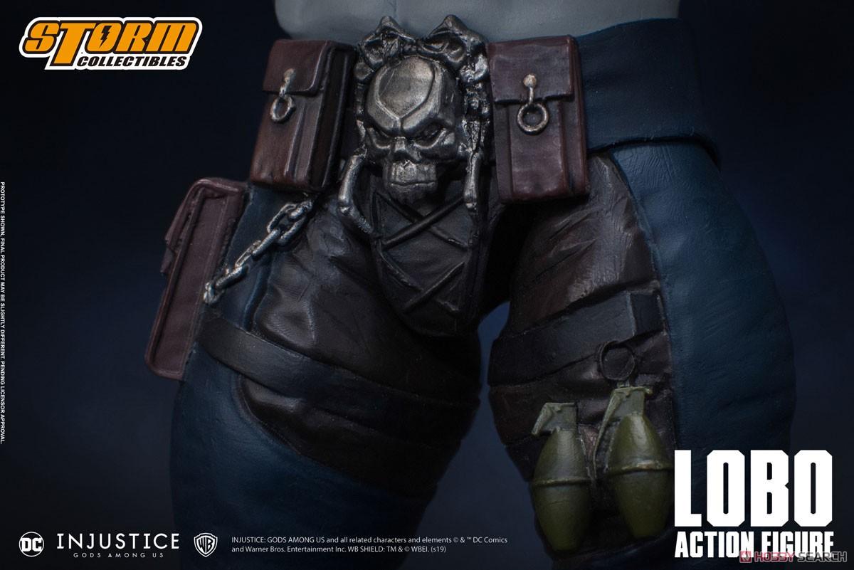 インジャスティス:神々の激突『ロボ』 アクションフィギュア-012