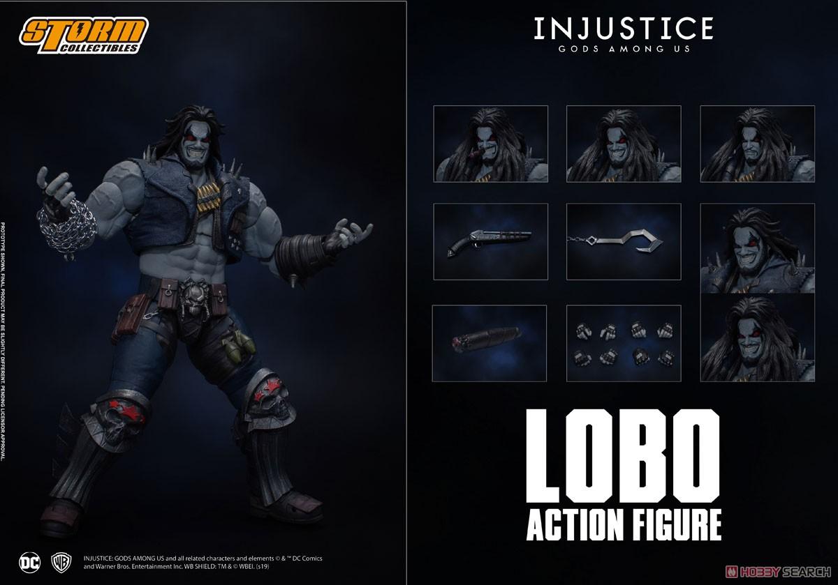 インジャスティス:神々の激突『ロボ』 アクションフィギュア-014