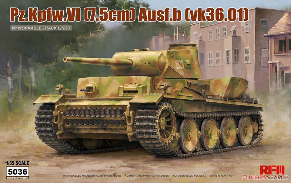 1/35『ドイツ VI号戦車 B型(vk36.01)』プラモデル-001
