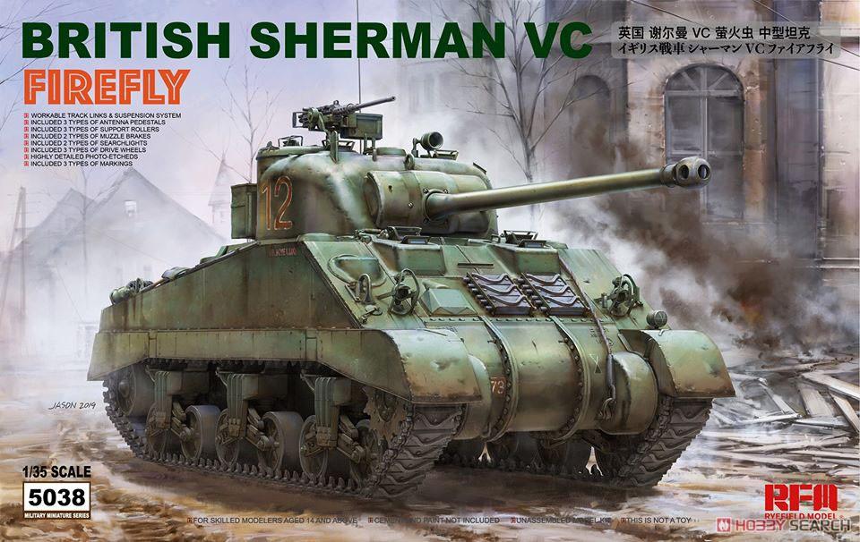 1/35『イギリス シャーマン VC ファイアフライ』プラモデル-001