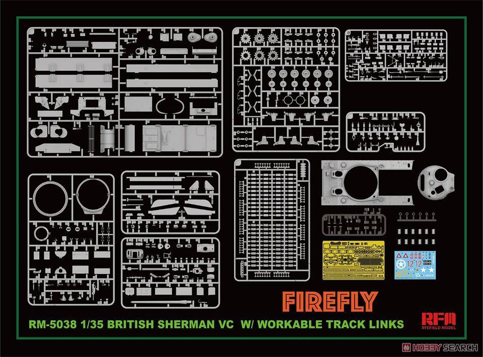 1/35『イギリス シャーマン VC ファイアフライ』プラモデル-002