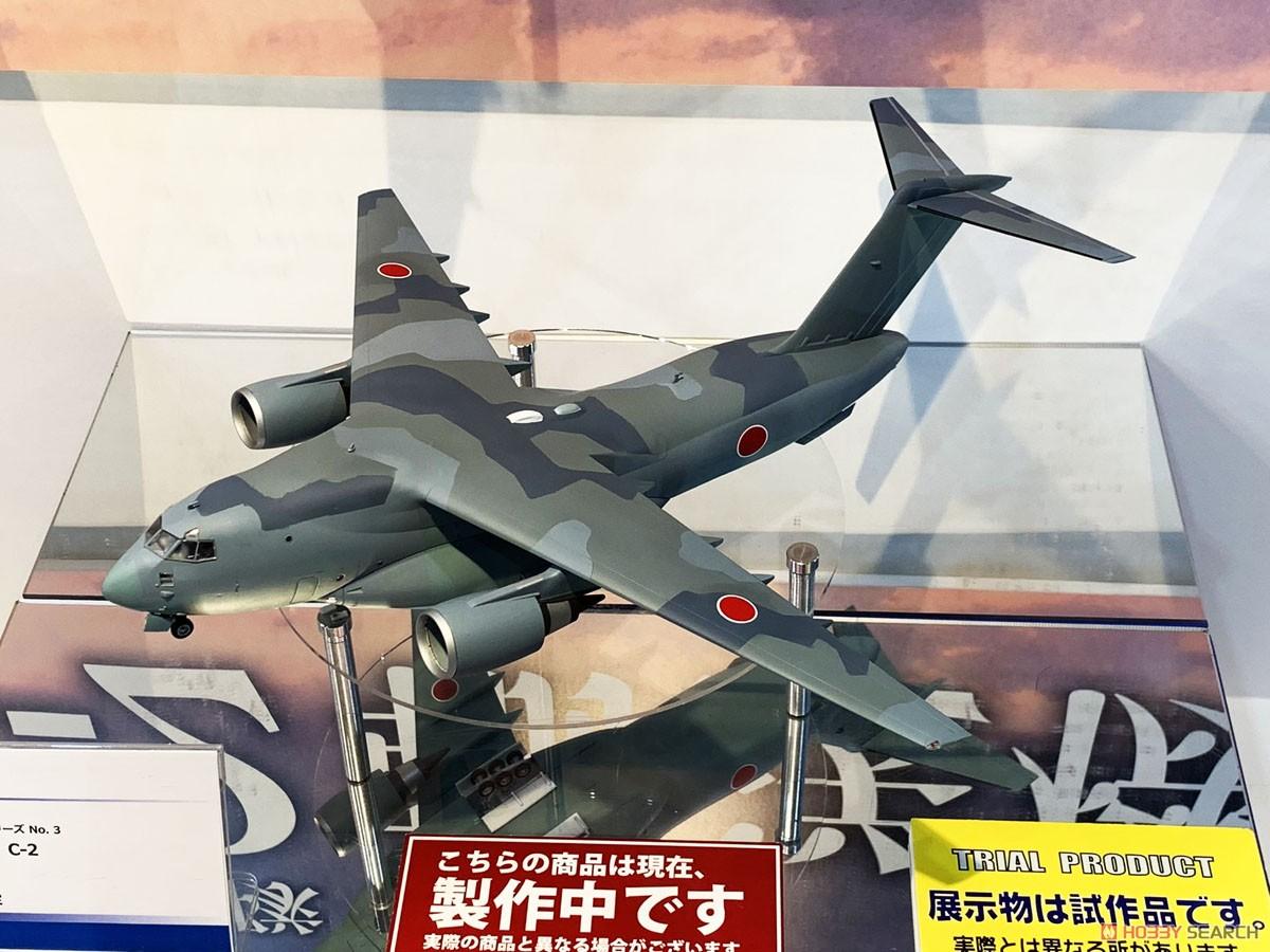1/144 航空機 No.3『航空自衛隊 C-2 輸送機』プラモデル-003