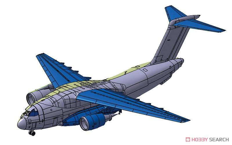 1/144 航空機 No.3『航空自衛隊 C-2 輸送機』プラモデル-005