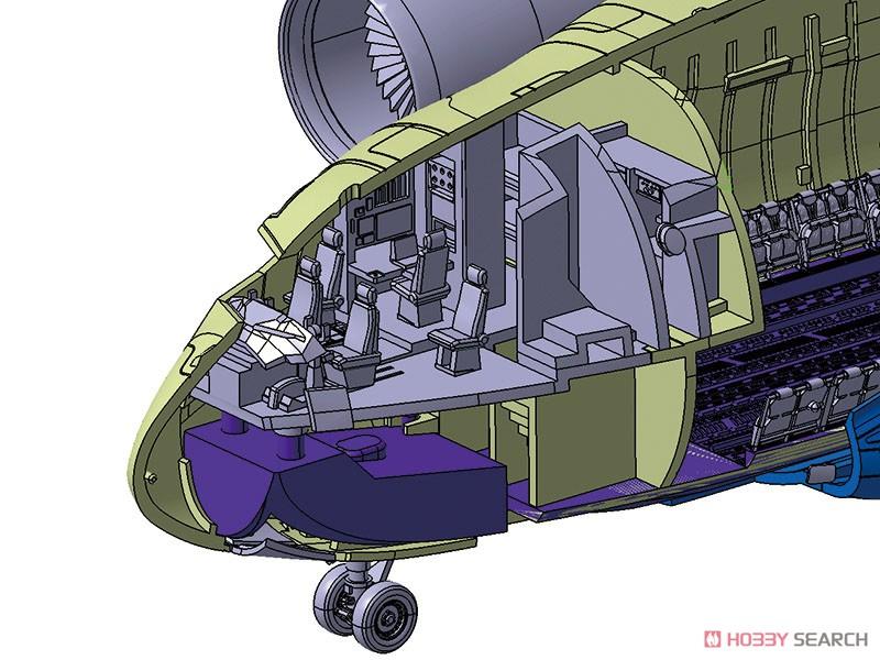 1/144 航空機 No.3『航空自衛隊 C-2 輸送機』プラモデル-006