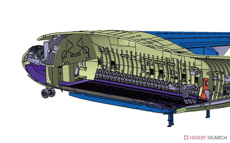 1/144 航空機 No.3『航空自衛隊 C-2 輸送機』プラモデル-007