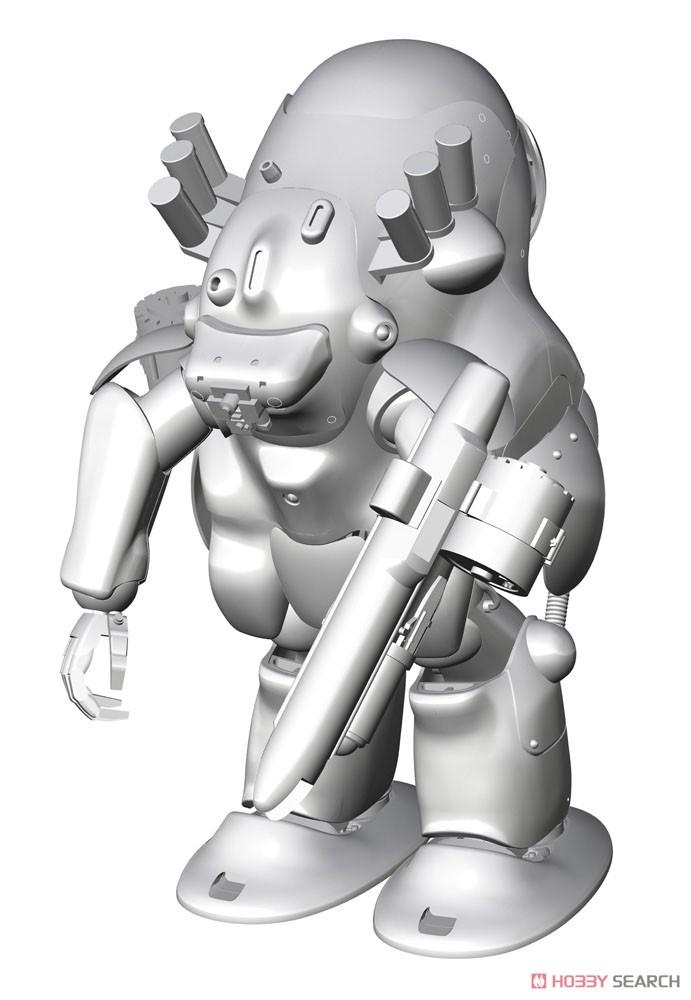 マシーネンクリーガー『ロボットバトルV 44型重装甲戦闘服 MK44B-2 アックスナイト』1/20 プラモデル-002