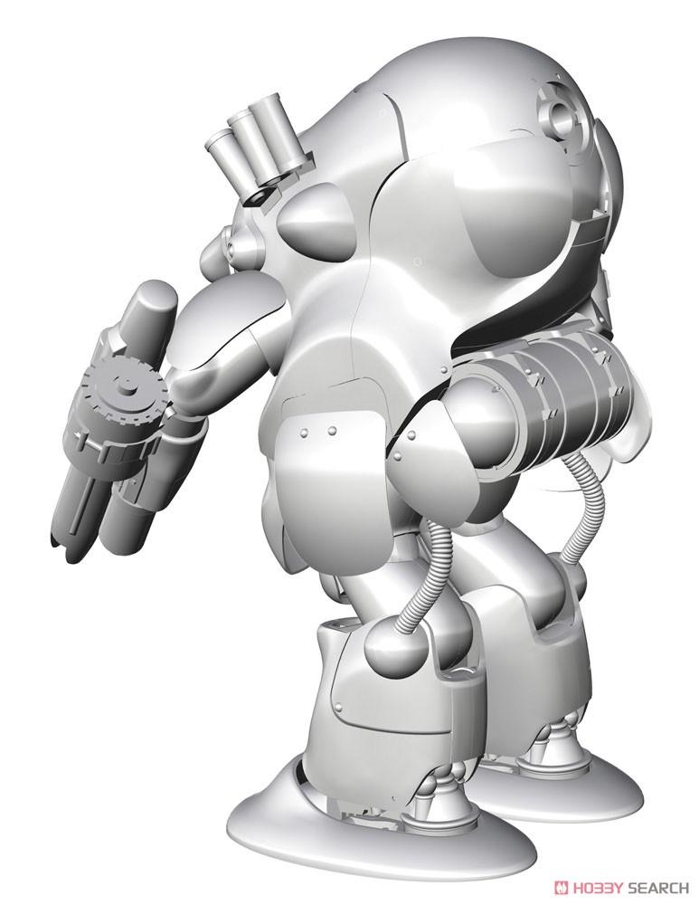 マシーネンクリーガー『ロボットバトルV 44型重装甲戦闘服 MK44B-2 アックスナイト』1/20 プラモデル-003