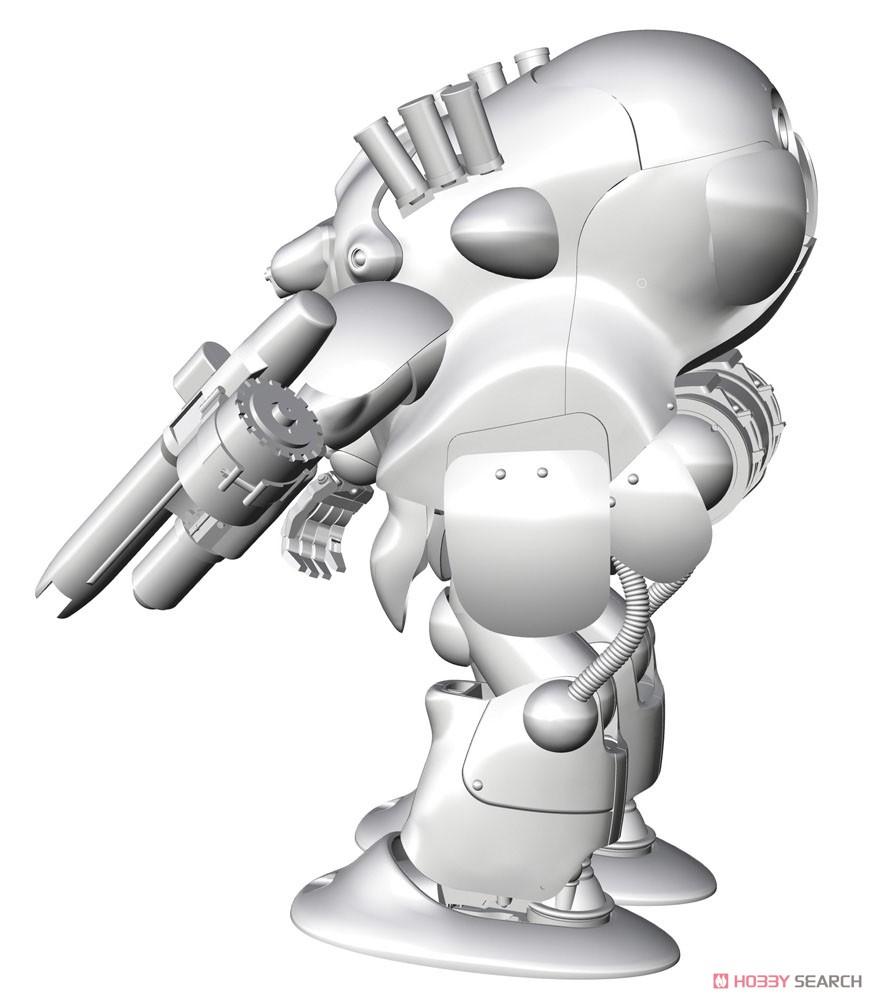 マシーネンクリーガー『ロボットバトルV 44型重装甲戦闘服 MK44B-2 アックスナイト』1/20 プラモデル-004