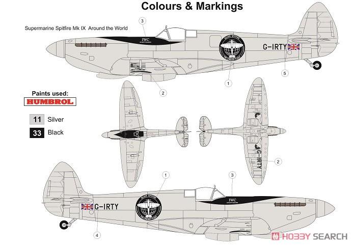 1/72『スピットファイア Mk.IX「ロンゲスト・フライト」』プラモデル-002