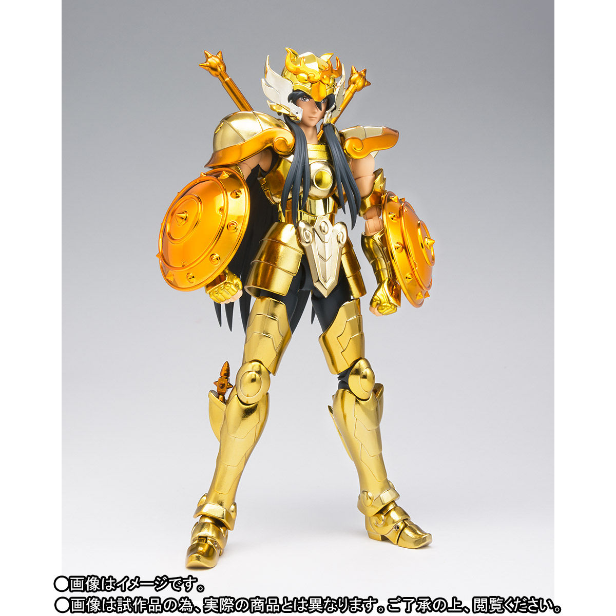 【限定販売】聖闘士聖衣神話EX『ライブラ紫龍』可動フィギュア-002