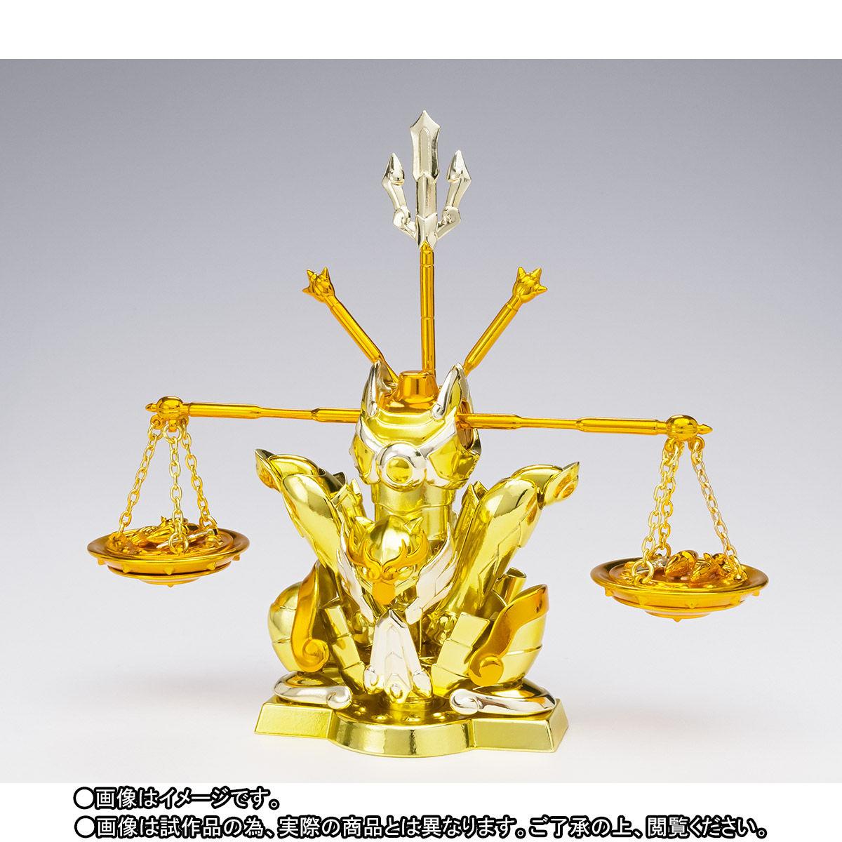 【限定販売】聖闘士聖衣神話EX『ライブラ紫龍』可動フィギュア-009