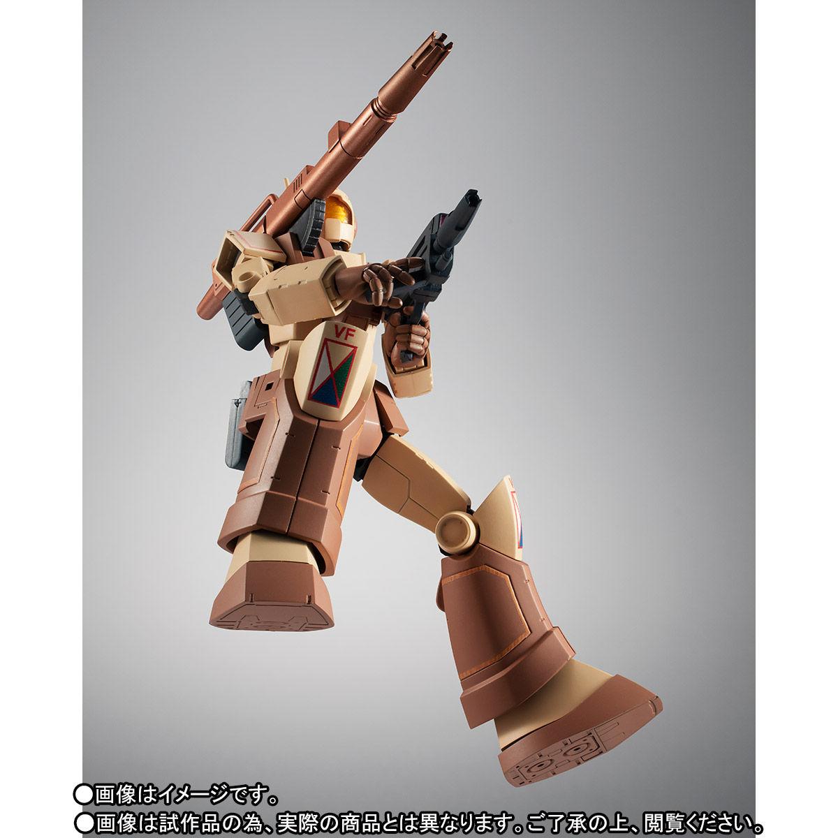 【限定販売】ROBOT魂〈SIDE MS〉『RGC-80 ジム・キャノン アフリカ戦線仕様 ver. A.N.I.M.E.』ガンダムMSV 可動フィギュア-008