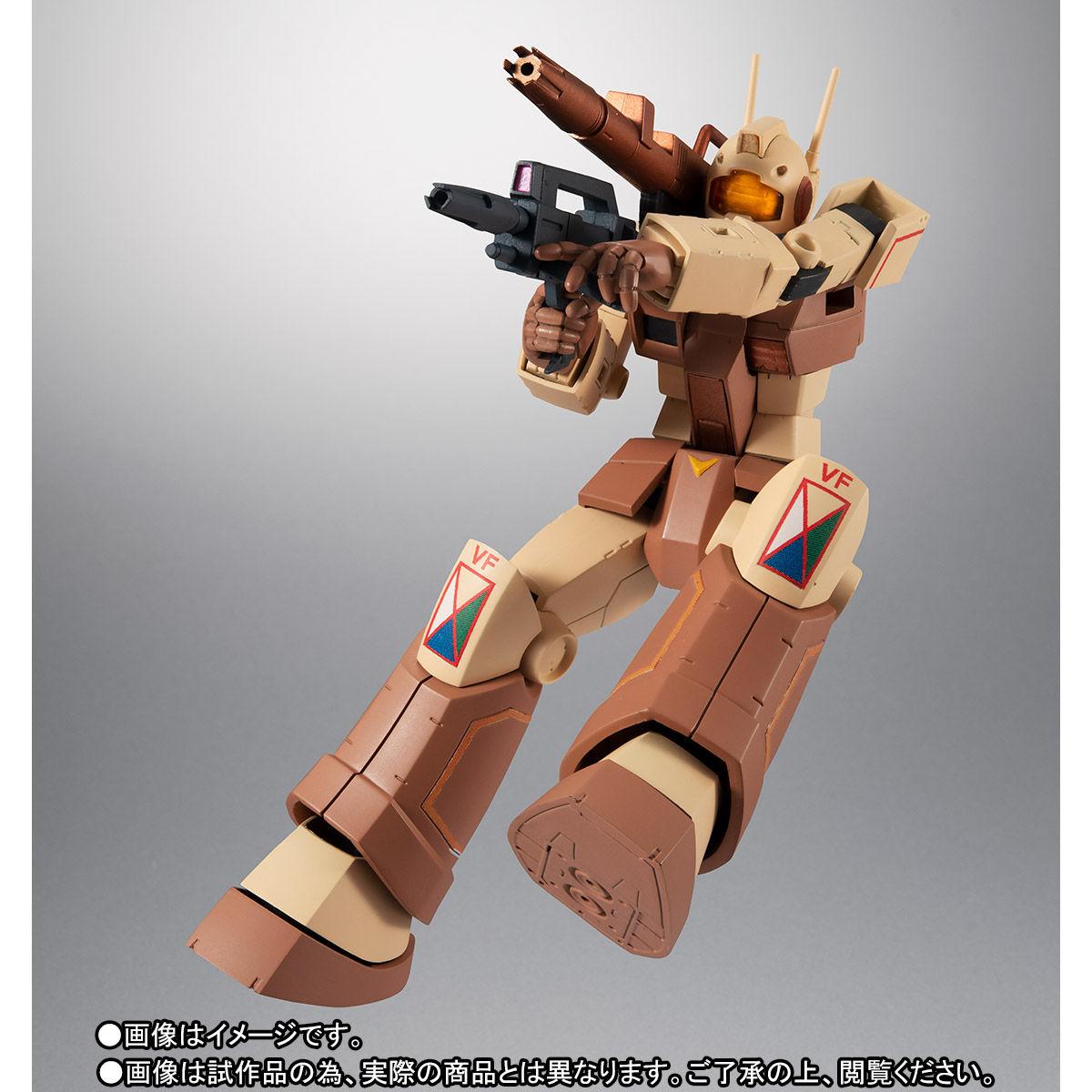 【限定販売】ROBOT魂〈SIDE MS〉『RGC-80 ジム・キャノン アフリカ戦線仕様 ver. A.N.I.M.E.』ガンダムMSV 可動フィギュア-009