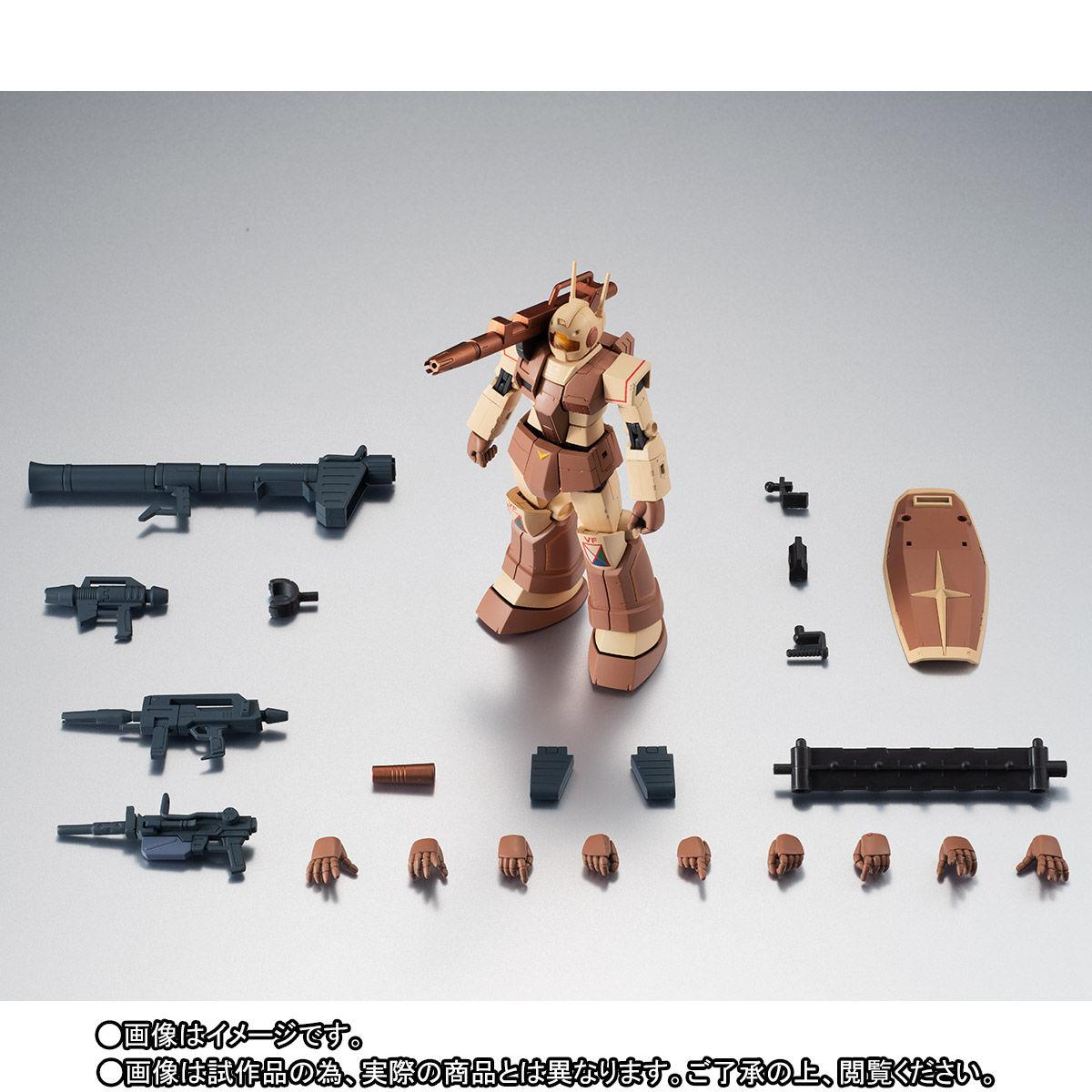 【限定販売】ROBOT魂〈SIDE MS〉『RGC-80 ジム・キャノン アフリカ戦線仕様 ver. A.N.I.M.E.』ガンダムMSV 可動フィギュア-010