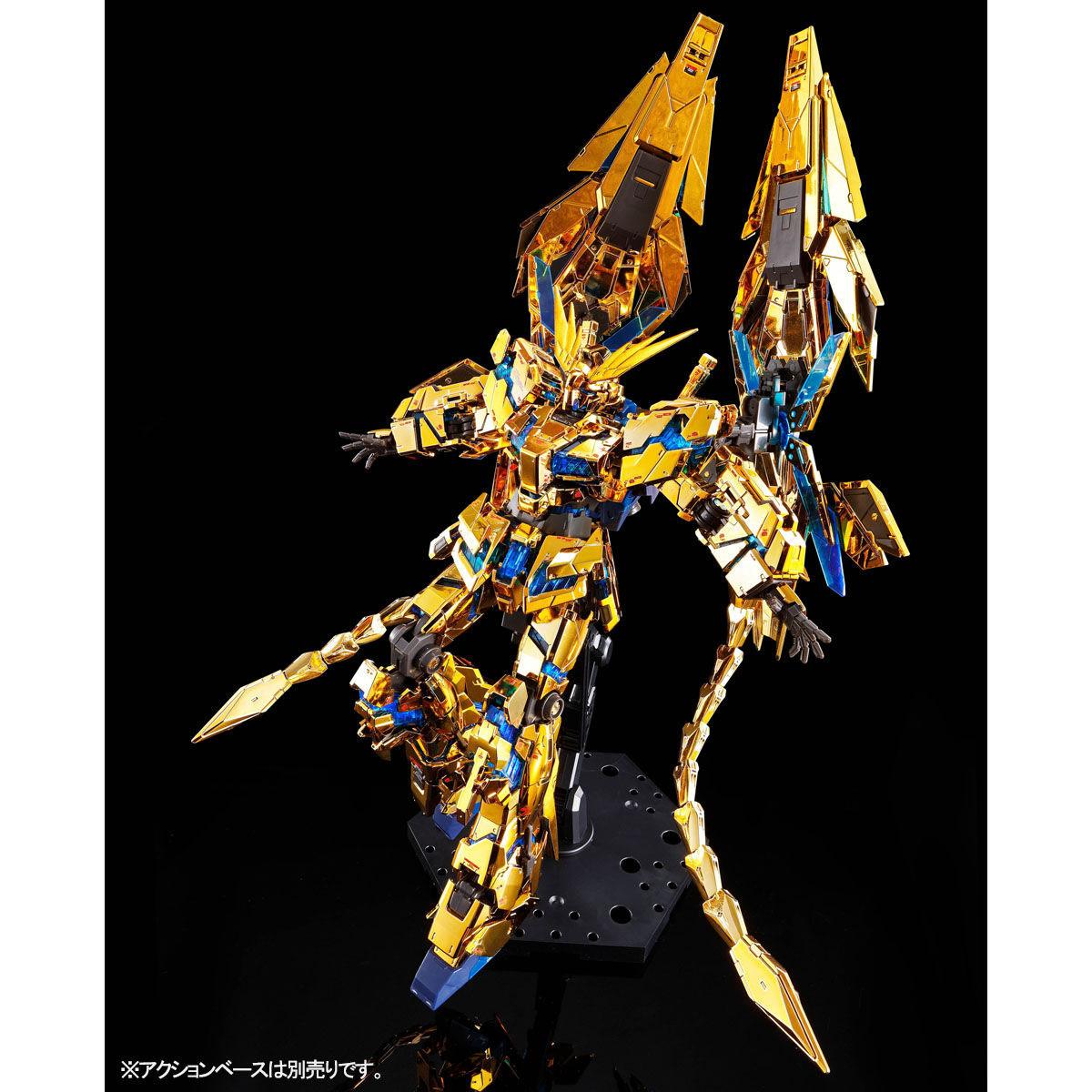 【限定販売】RG 1/144『ユニコーンガンダム3号機 フェネクス(ナラティブVer.)』プラモデル-005