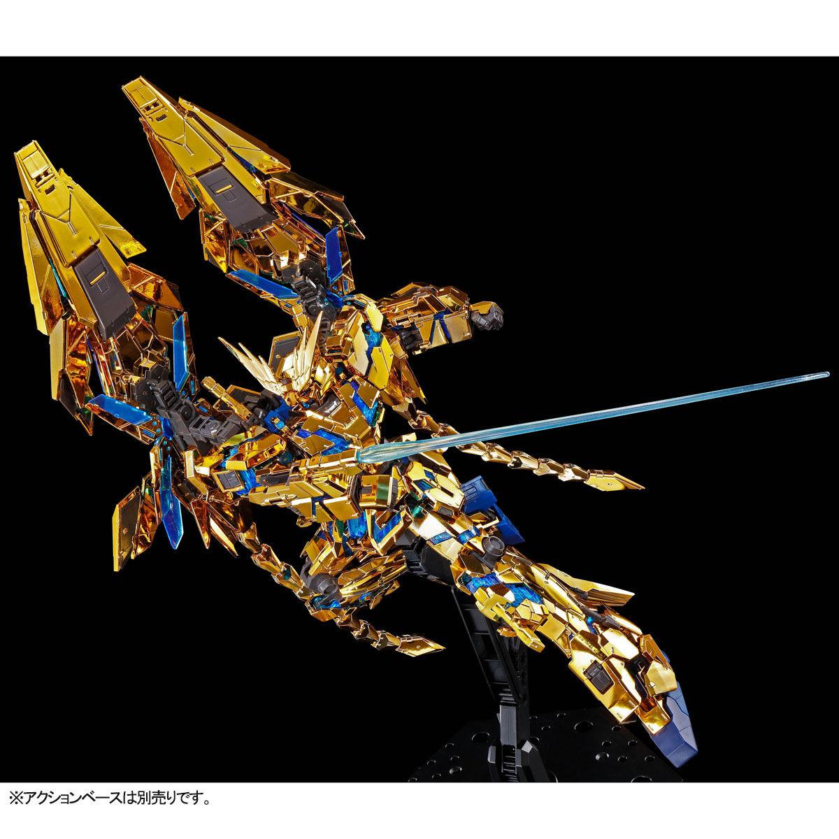 【限定販売】RG 1/144『ユニコーンガンダム3号機 フェネクス(ナラティブVer.)』プラモデル-007
