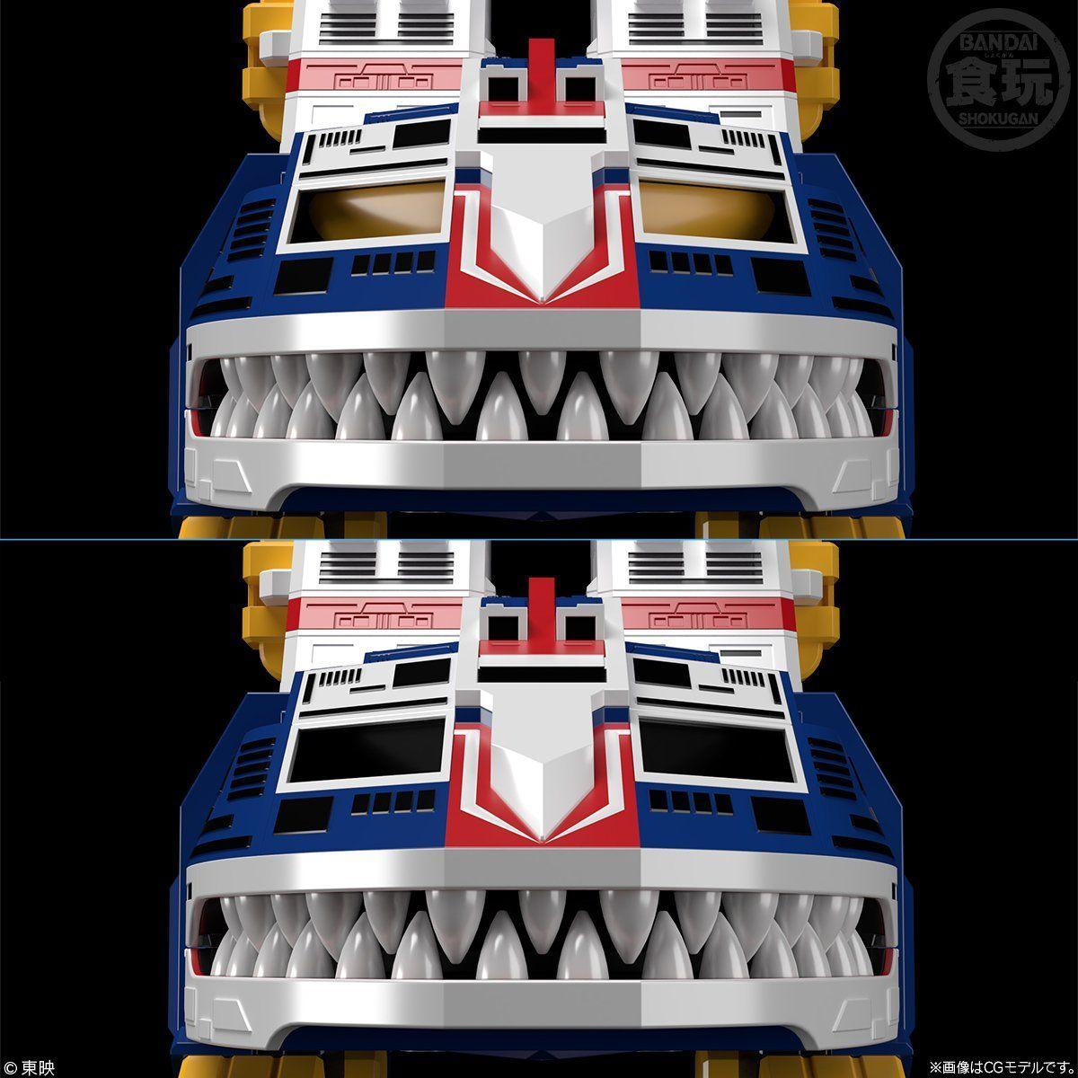 【限定販売】【食玩】スーパーミニプラ『ビッグスケール ジャガーバルカン』太陽戦隊サンバルカン プラモデル-002