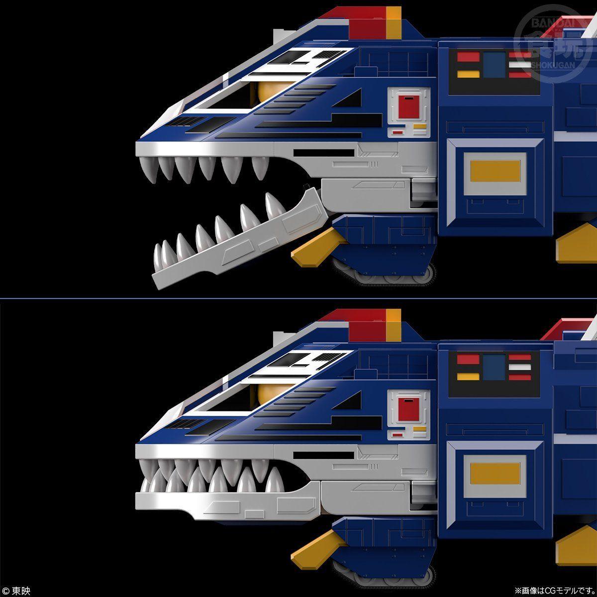 【限定販売】【食玩】スーパーミニプラ『ビッグスケール ジャガーバルカン』太陽戦隊サンバルカン プラモデル-003