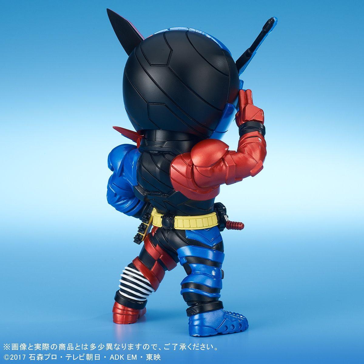 【限定販売】デフォリアル『仮面ライダービルド ラビットタンクフォーム』完成品フィギュア-005