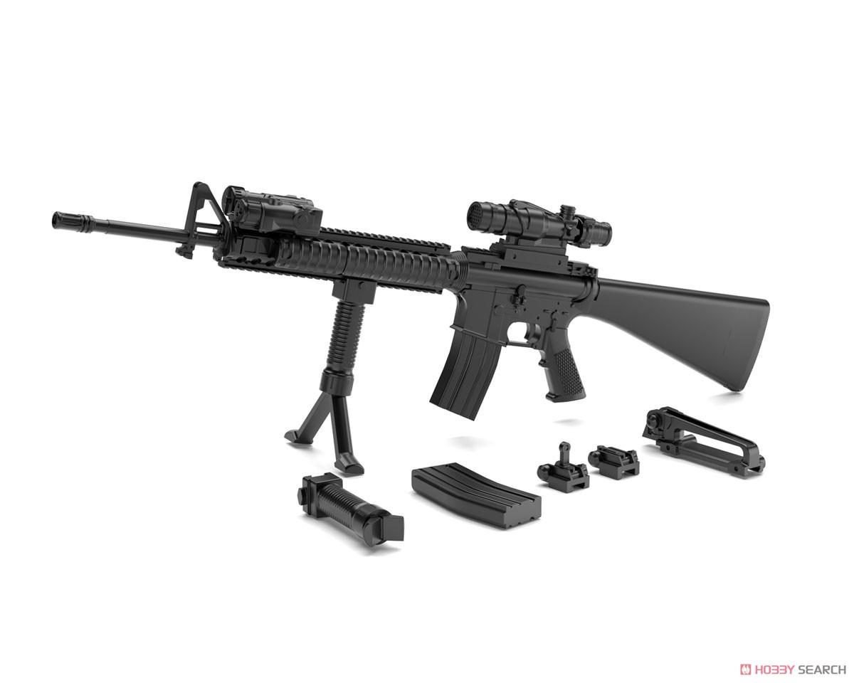 リトルアーモリー LA056『M16A4タイプ』1/12 プラモデル-001